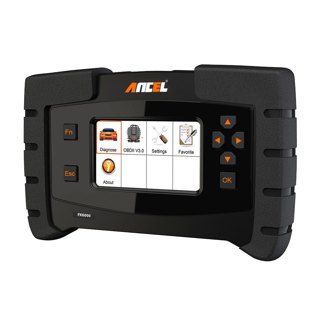 ANCEL FX6000 OBD2 Scanner with Full System Automotive Code Reader Vehicle  OBDII Diagnostic Scan Tool for Engine ABS SRS