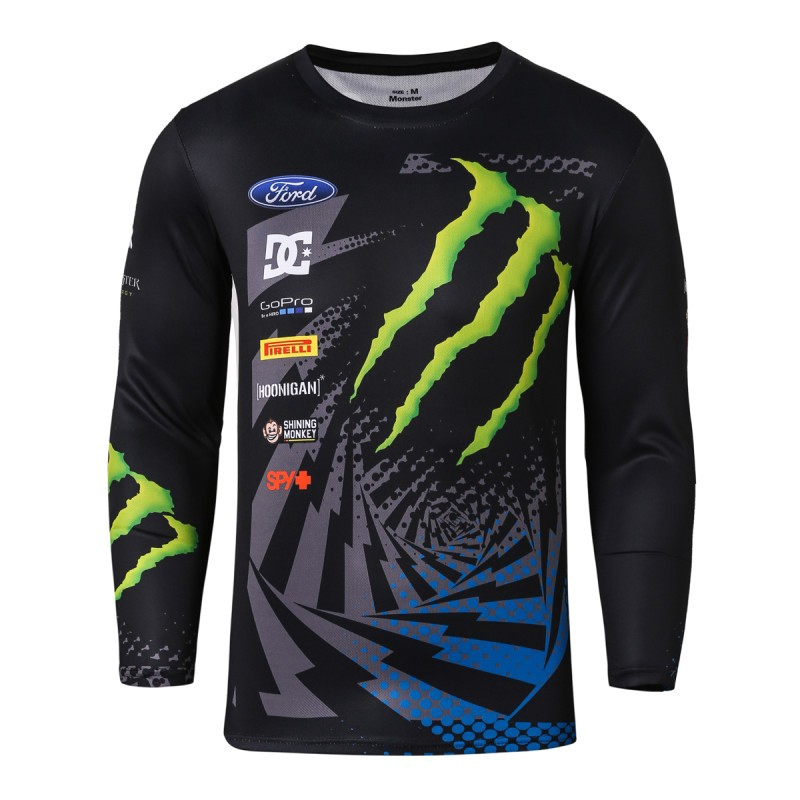 ec80ded970f Quick Dry Compression Tight Jersey Long Sleeve T Shirt Men