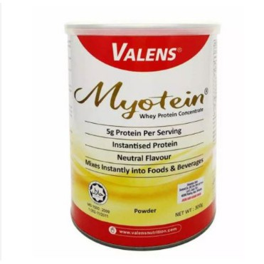 Valens Myotein Whey Protein Concentrated Powder 300gm