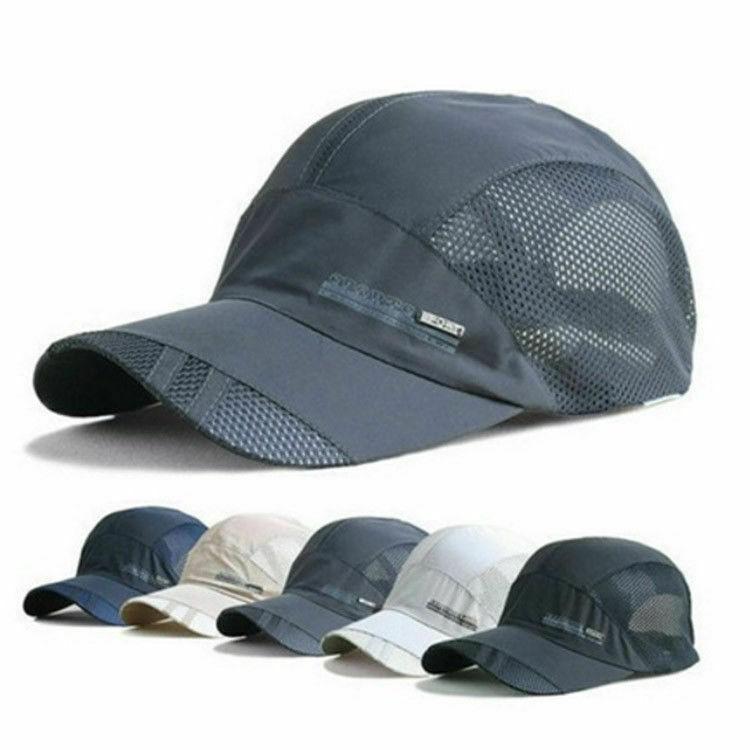 b7f3e120f3 Women Men Sport Baseball Mesh Hat Running Visor Quick-drying Cap Hot Best