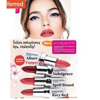 Tupperware Nutrimetic colagen lipstick