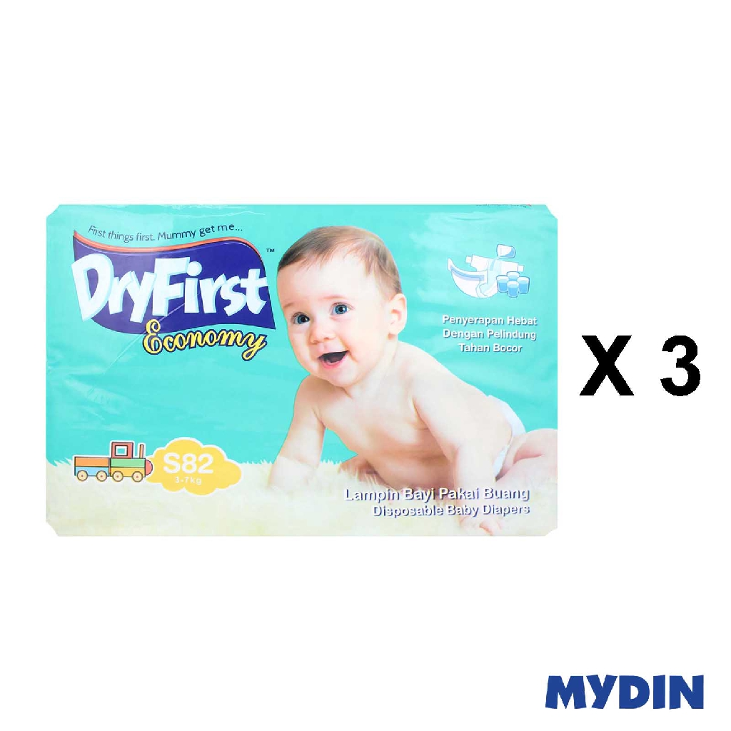 Dryfirst Economy Mega S82 (3 Pack)