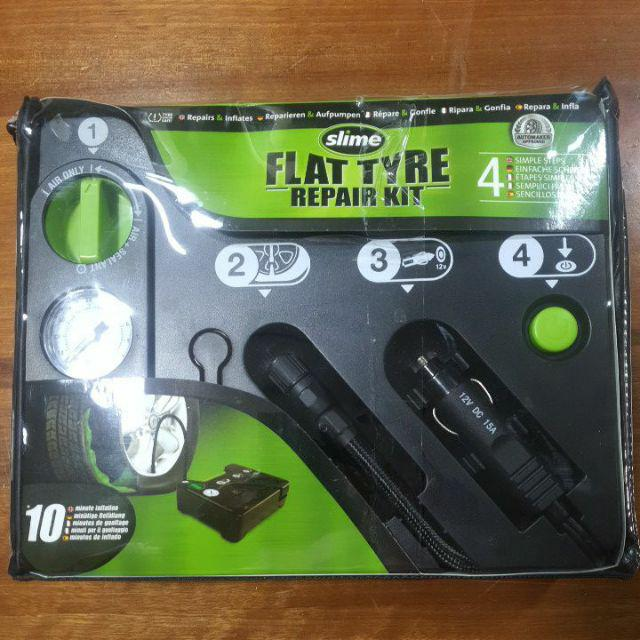 Complete Kit Slime 50129 Flat Tyre Repair Kit Puncture Repair for Cars and Other Vehicles