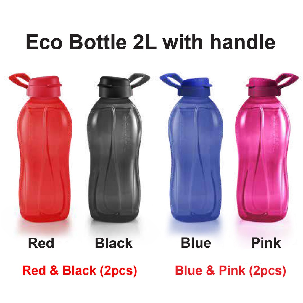 Tupperware Eco Bottle 2L with handle (1pc / 2pcs)