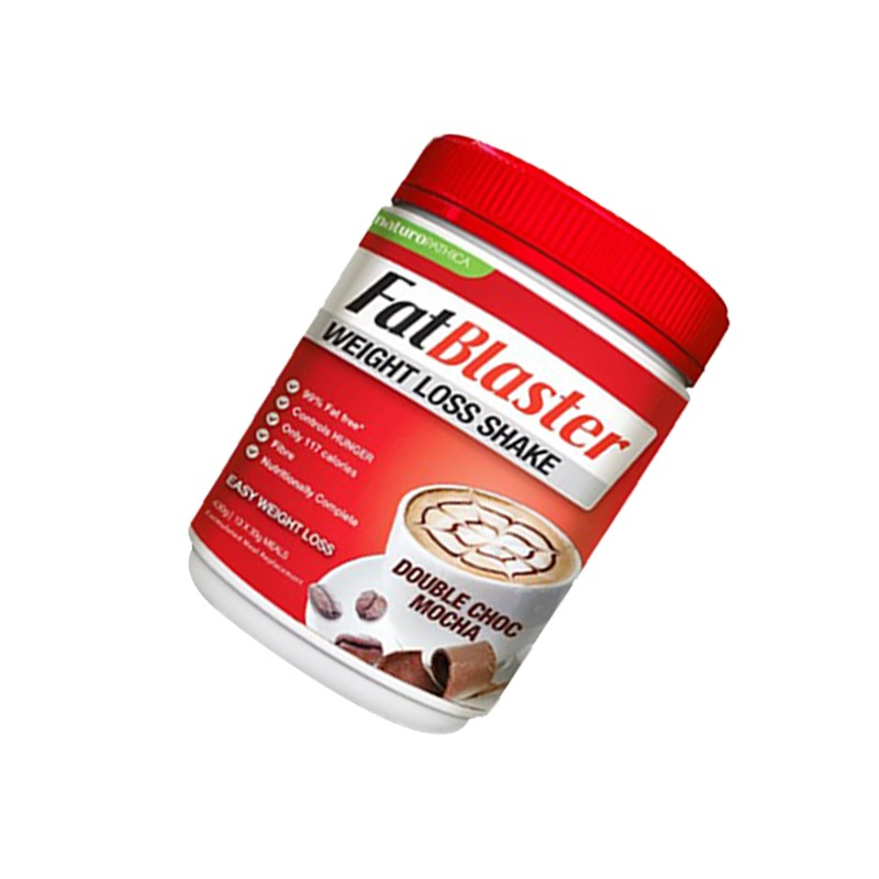 Fatblaster Weight Loss Shake Double Choc Mocha 30 Less Sugar 430g