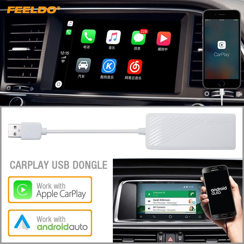 12V USB Dongle for Apple iOS CarPlay Android Car Auto Radio Navigation Player Car & Truck Parts Auto Parts & Accessories