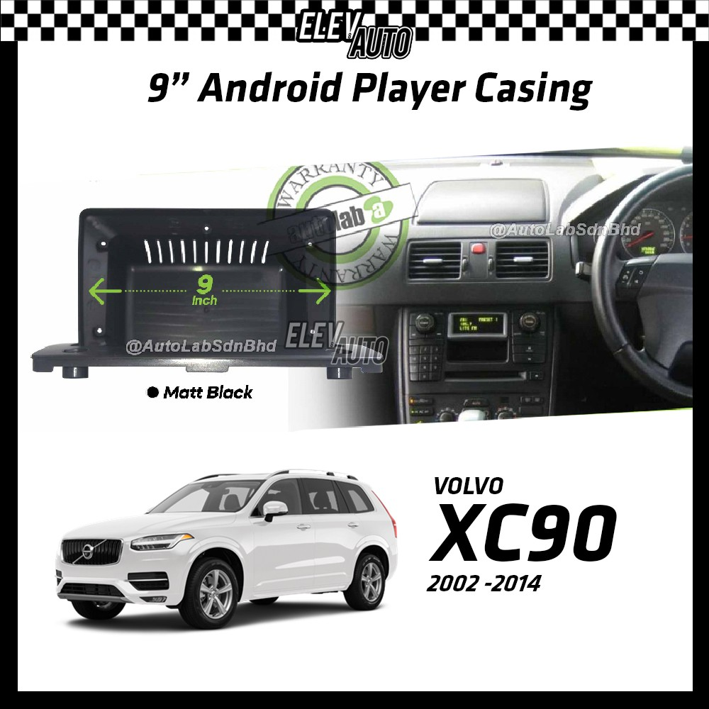 """Volvo XC90 2002-2014 Android Player Casing 9"""" with Canbus"""