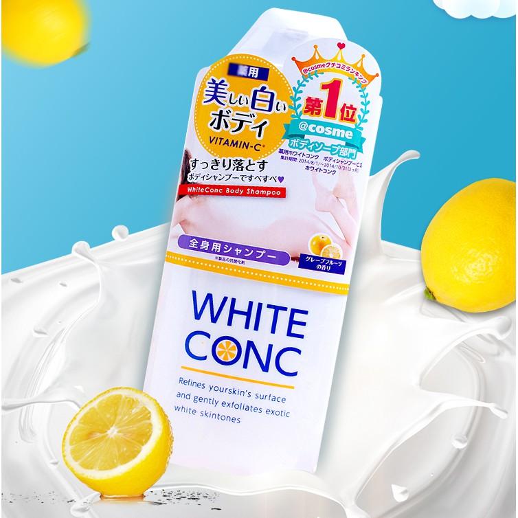 Japan White conc Whitening Body Wash CII 150ml/360ml White conc沐浴露 | Shopee  Malaysia