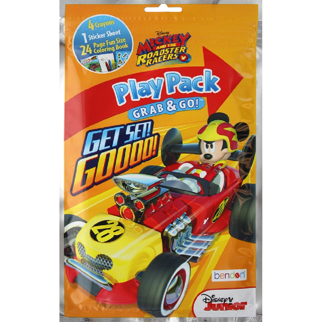 Mickey and The Roadster Racers: Get Set! Goooo! (PlayPack Grab & Go!) ISBN : 805219424421