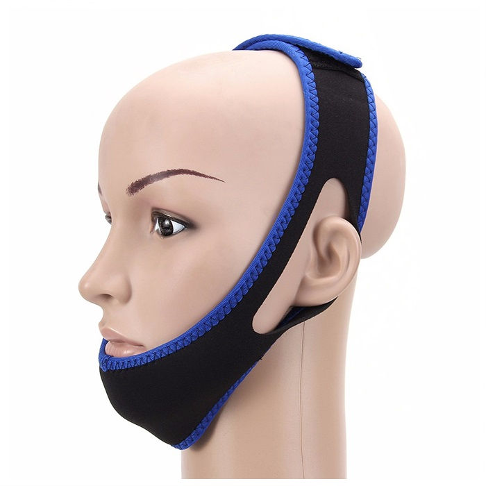 Adjustable Anti Snoring Snore Stopper Chin Strap Comfortable Sleep