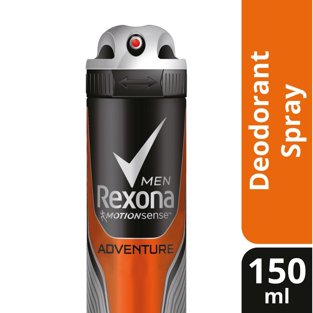 Rexona Men's Spray Deodorant - Adventure (150ml)