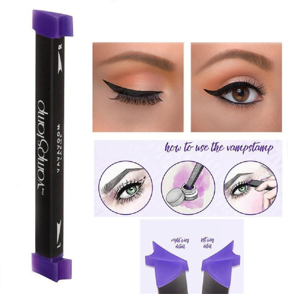 Viral Eyeliner Stamp Shopee Malaysia Pixy Line Shadow Green