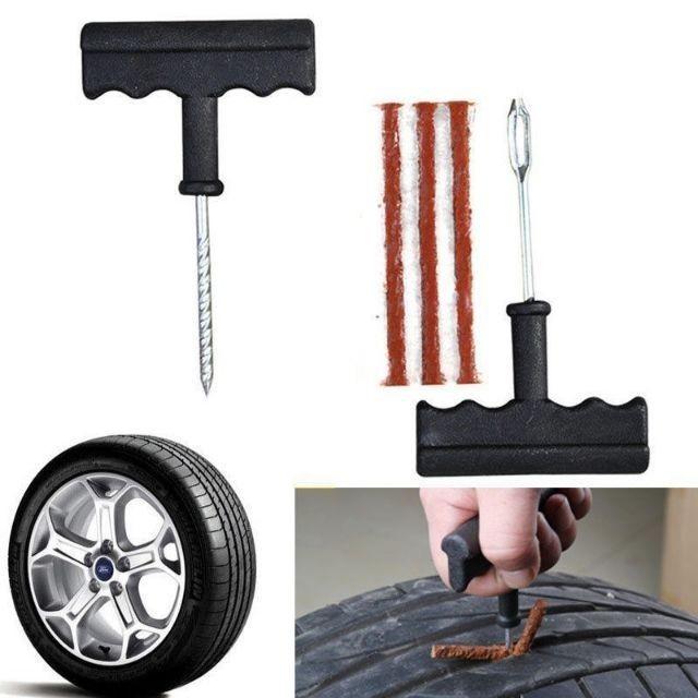 Tubeless Car Truck Motobike Tire Repair Emergency Tool Kit