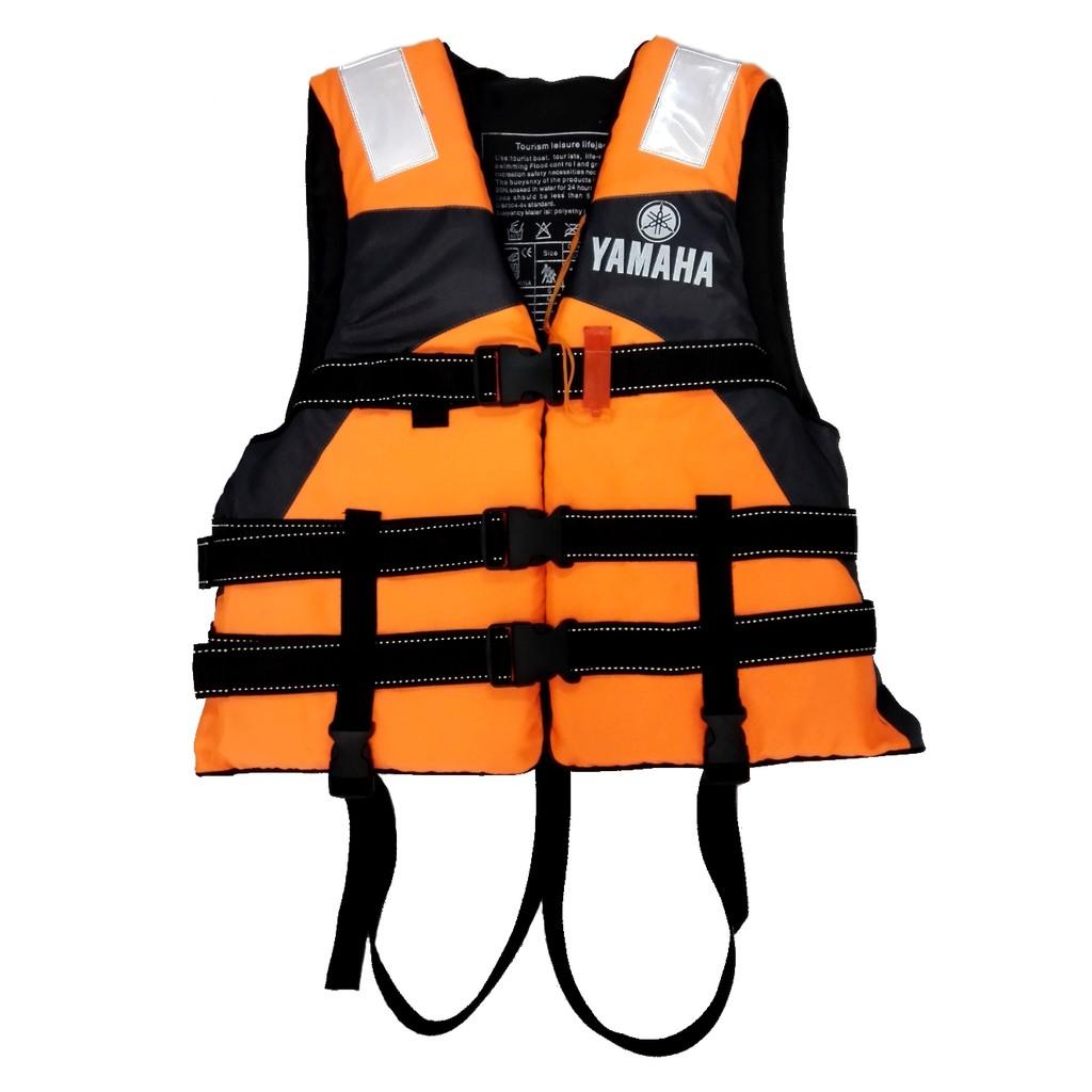 Yamaha Life Jacket Water Sport Survival Tourism Adult Unisex Free