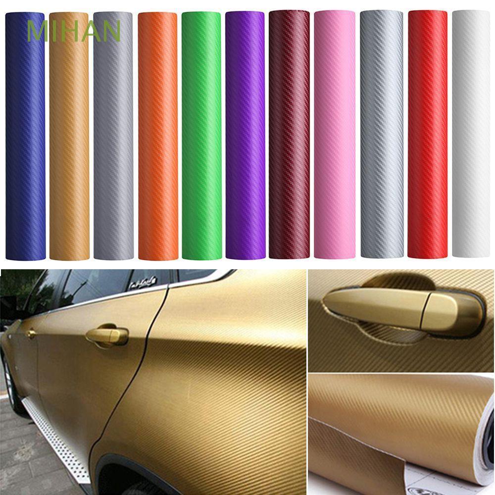 DIY Satin Matte Metallic Chrome Vinyl Sticker Decal Tape for Car Phone Wrap CF