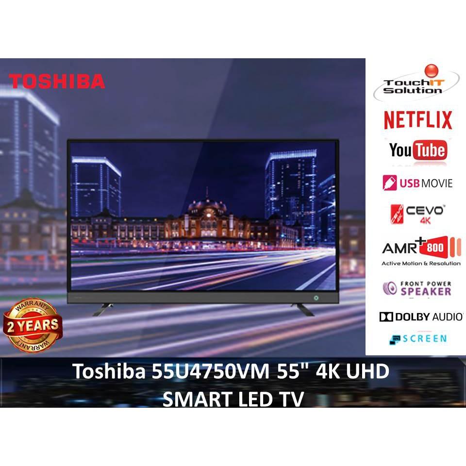 "Toshiba 55U4750VM 55"" 4K UHD SMART LED TV"