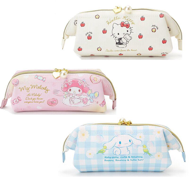 bf981ce3e Hello Kitty Melody Cinnamoroll PU Pen Bag Zipper Storage Cosmetic Bag |  Shopee Malaysia