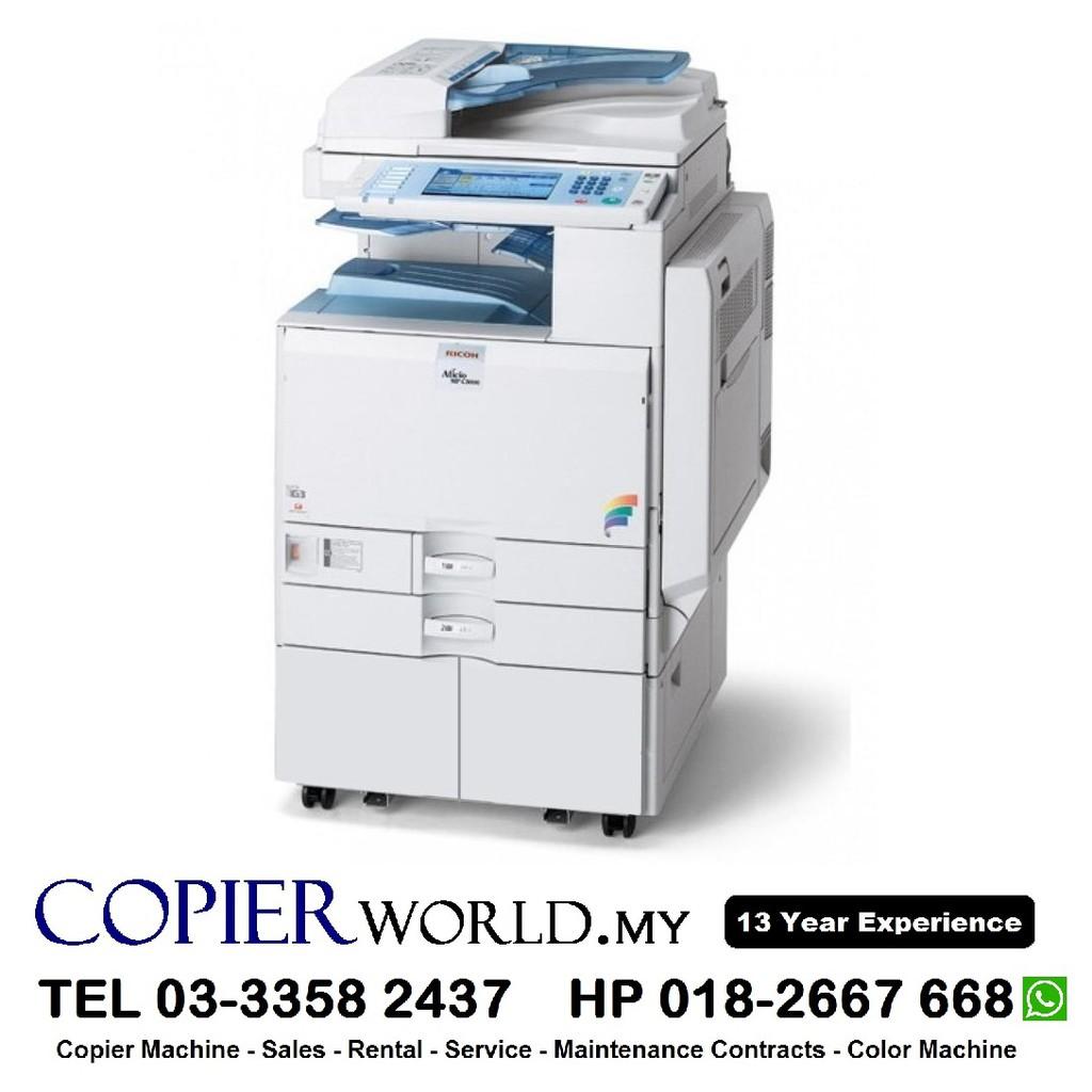 COPY PRINT SCAN Copier Photostat Color Ricoh MPC3001 A3 A4 Best Saving Cost