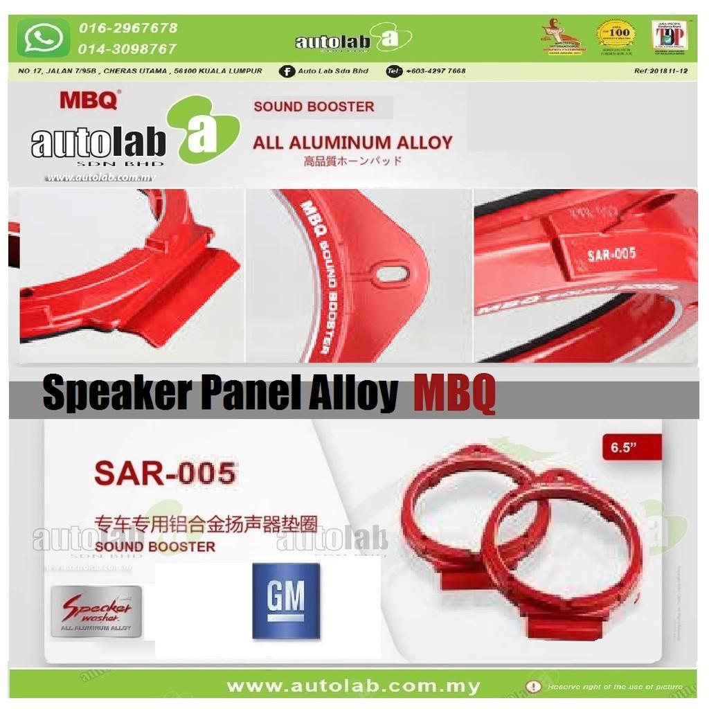 """Speaker Panel Alloy Sound Booster (GM) MBQ 6.5""""  SAR-005"""