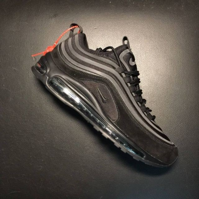 *lbjames* Nike Black Bullet Reflective Air Max 97 Ul 17 Se Sports Sports Shoes