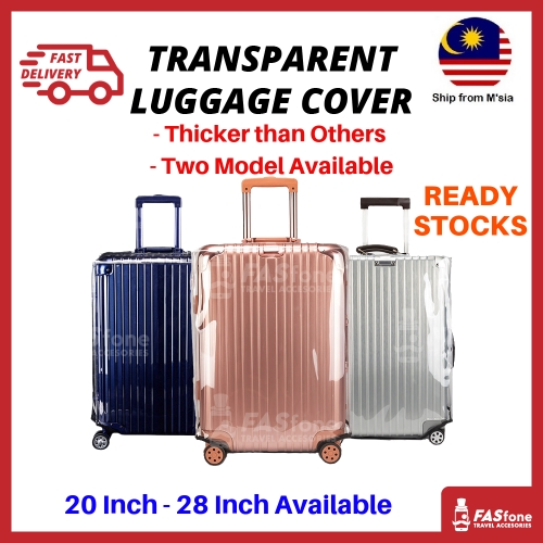 974885a42 Flamingos Thick Suitcase Cover Luggage Waterproof Travel Cover | Shopee  Malaysia
