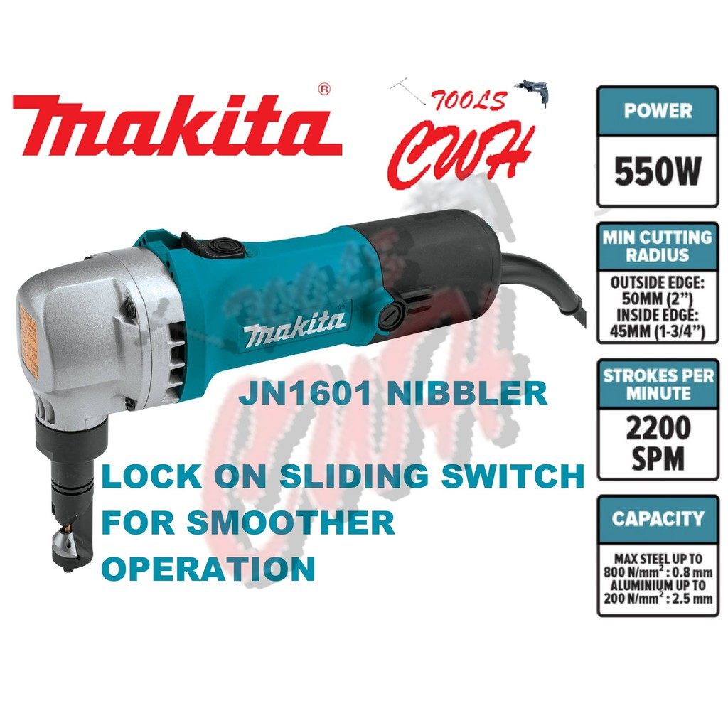 JN1601 MAKITA 550W 1.6MM NIBBLER