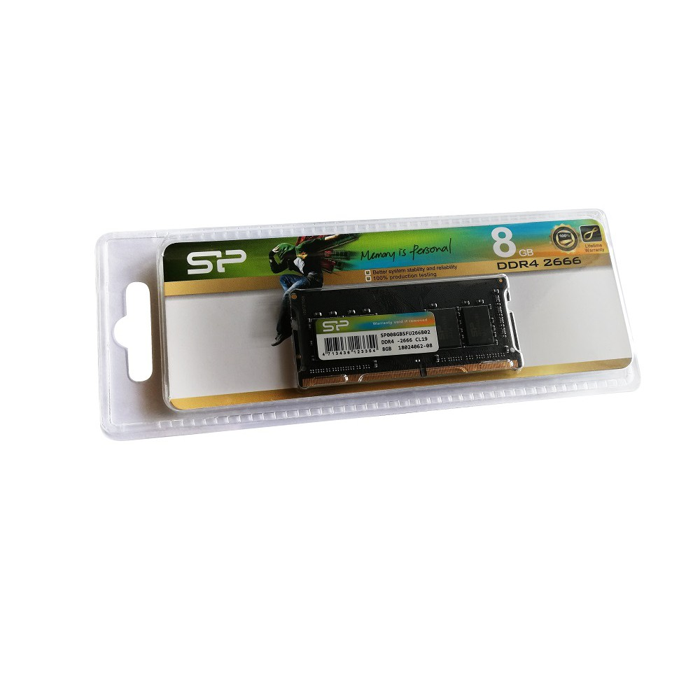 Silicon Power 8GB DDR4-2666 NOTEBOOK RAM