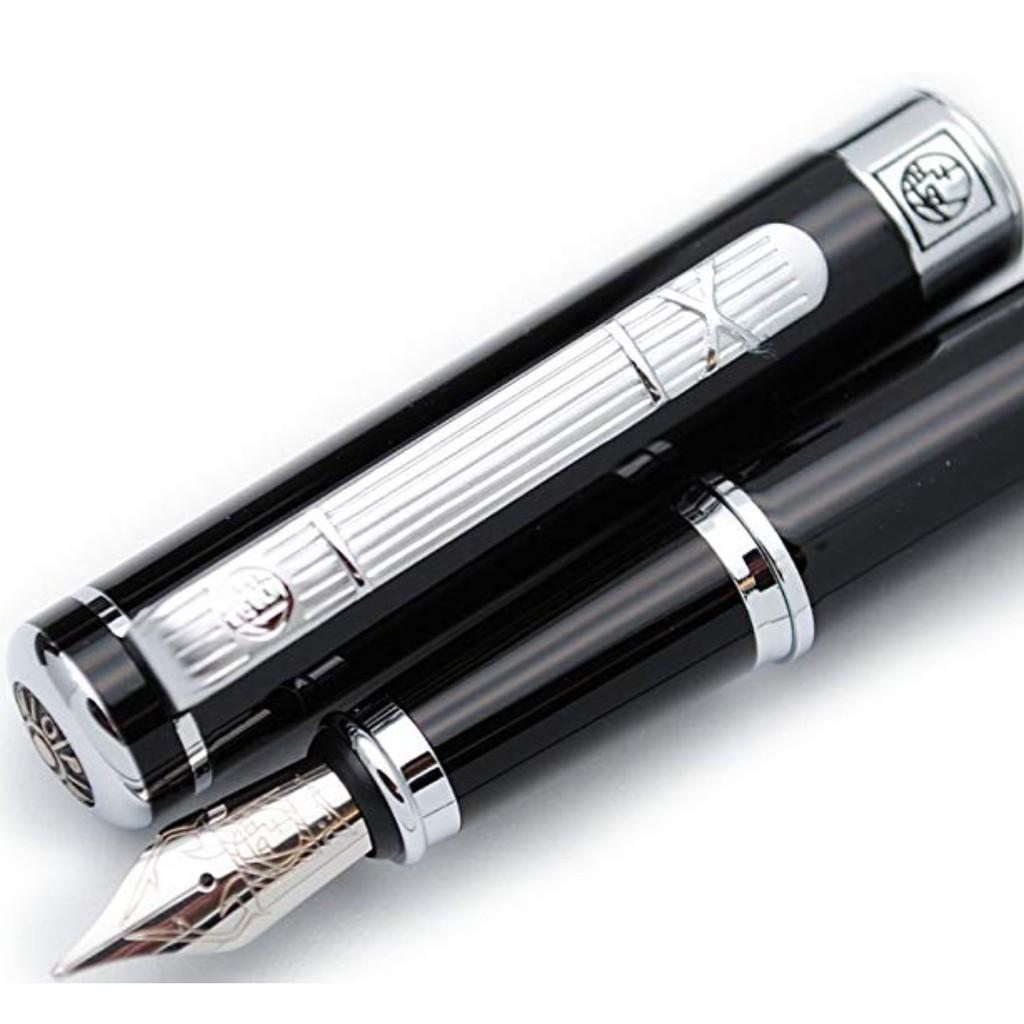 Parker Vector Sport White Fountain Pen Med Pt Black Clip Made In Uk New In Box