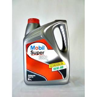 Mobil Super 1000 15w40 4l Mobil Engine Oil 15 40 Oil Lubricants Shopee Malaysia