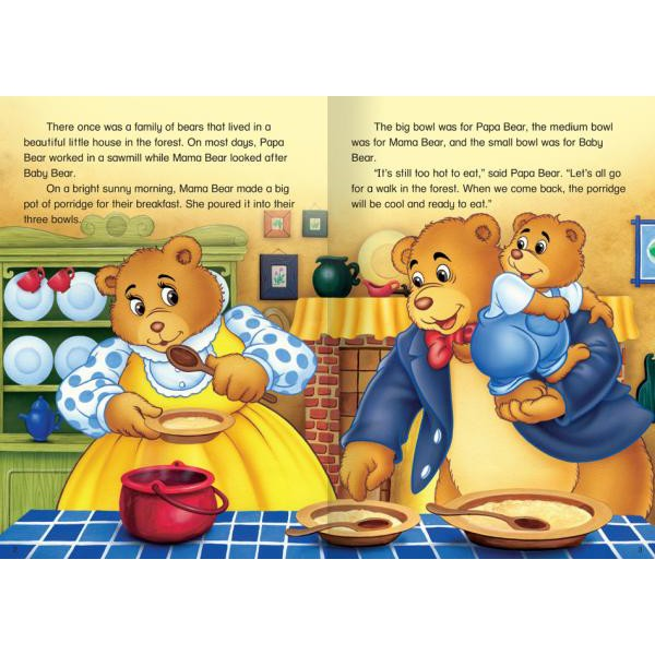 Goldilocks and the Three Bears and Other Tales | Shopee Malaysia