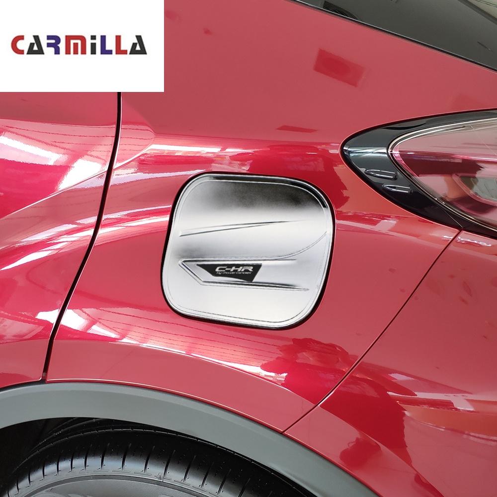 ABS Chrome Oil Fuel Tank Cap Cover Trim 1Pcs  For Peugeot 2008 2014-2018