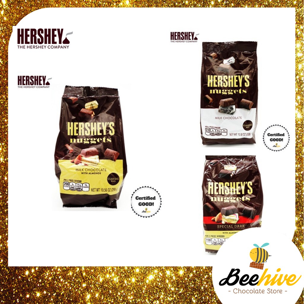 HERSHEY'S Nuggets Chocolate Pack (286g - 306g) *FREE Note Writing*