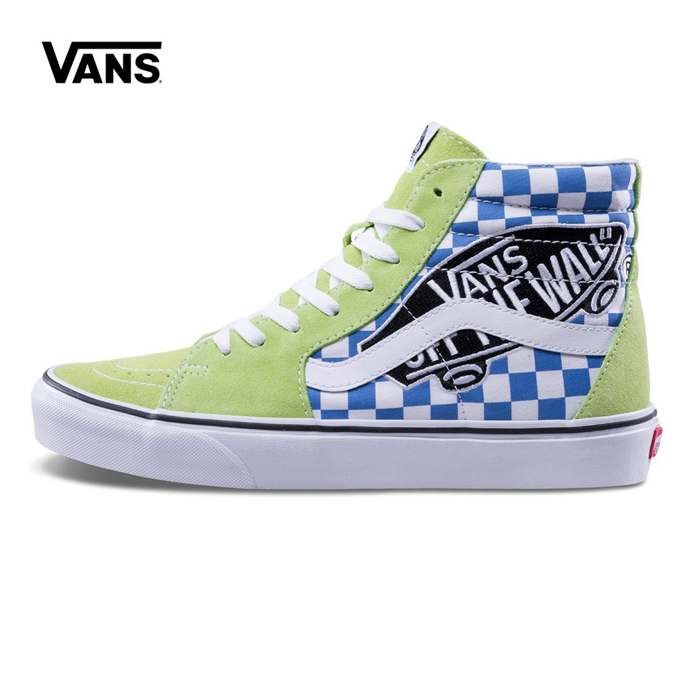 928bfc3677d Vans Patch SK8-Hi Sharp Green Women Sneaker Shoe