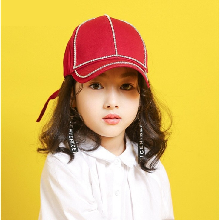 e6c175de Fashion Diamond Baby Kids Baseball Cap Unisex Boys Girls Sports Hat 3-8  Years