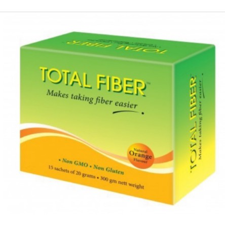 Total Fibre Natural Orange 15x20