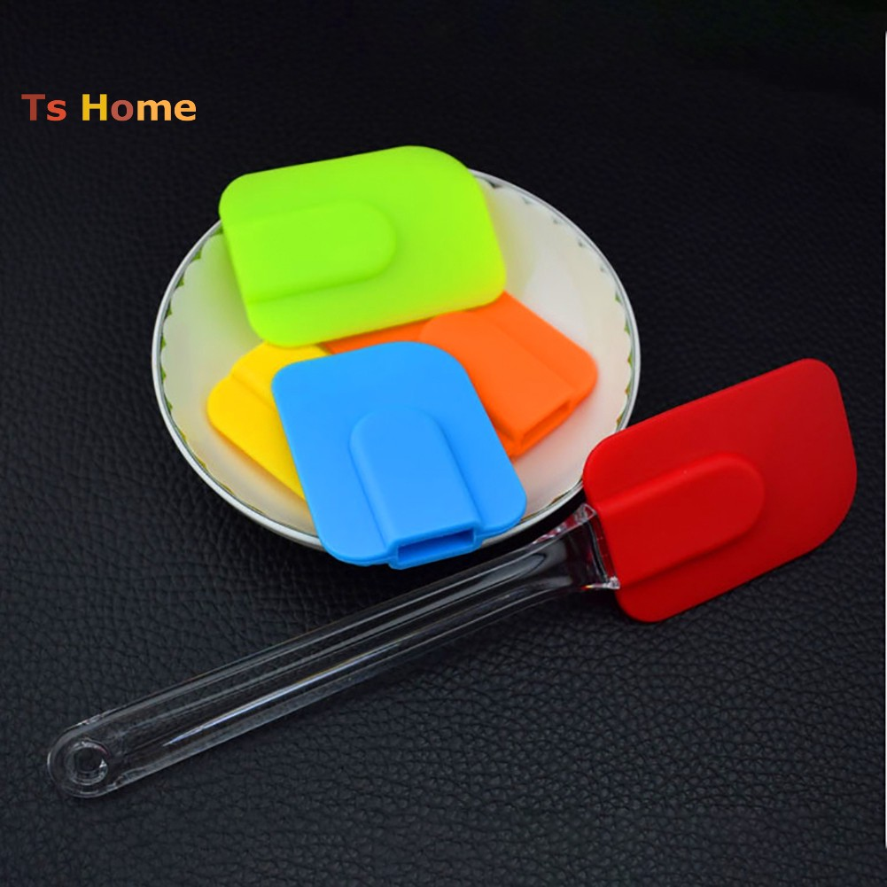 1X Cake Cream Butter Spatula Mixing Batter Brush Silicone Baking Tool NS