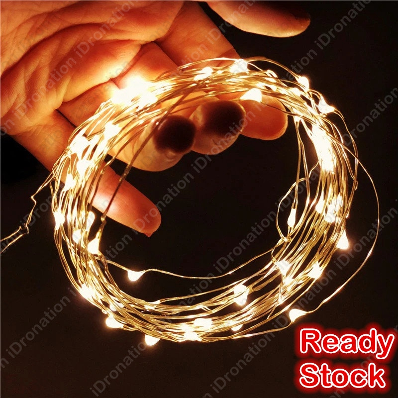 Copper 2m 5m 10m Usb Battery Micro Mini Copper Wire String Fairy Light Strings Lights Led Party Wedding Decoration