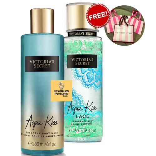 3ddfb5041ba98 Victoria s Secret Aqua Kiss Water Blooms Perfume Body Mist 250 ml For Her