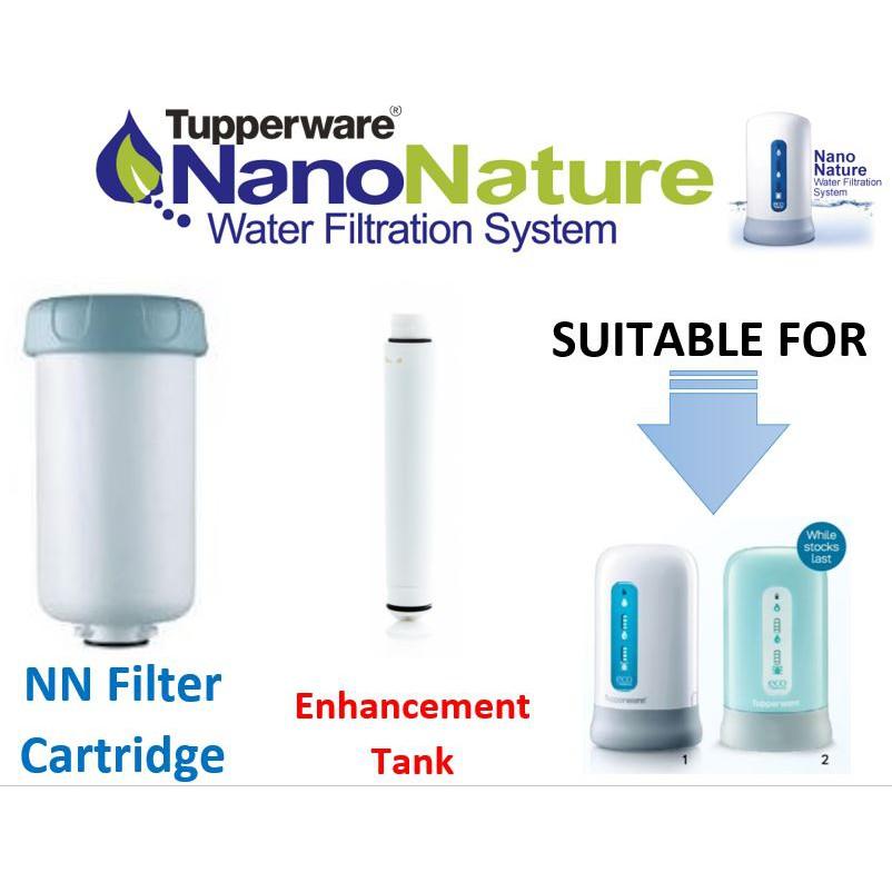 TUPPERWARE WATER FILTER CATRIDGE / NANO WATER FILTER CATRIDGE / ENHANCEMENT / NANO WATER FILTRATION SYSTEM REPLACEMENT