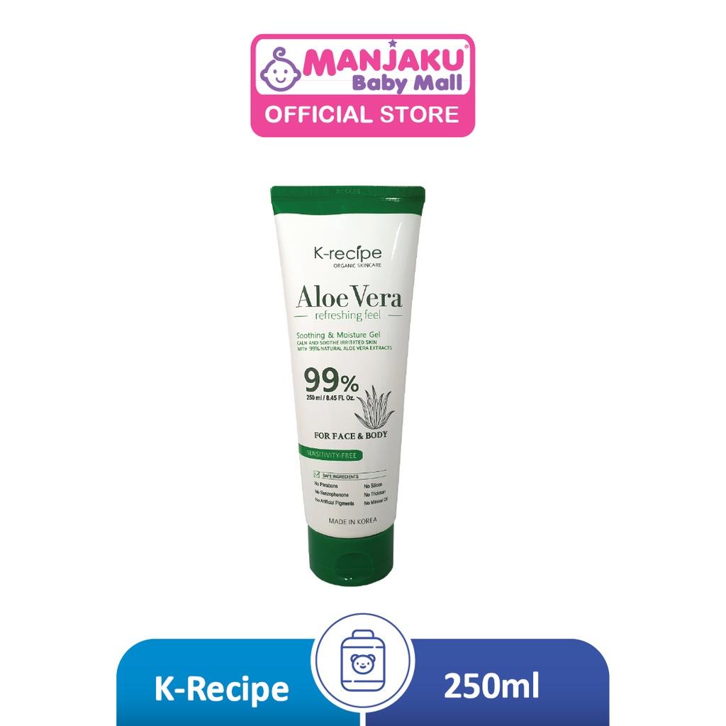 K-Recipe Aloe Vera Soothing Gel (250ml)