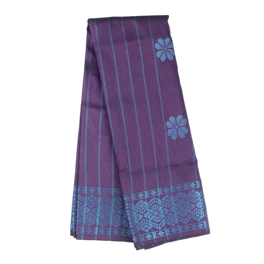 Men Sampin - Blue on Purple (2m x 32 Inch) 0818RIKTBHD09B #Raya