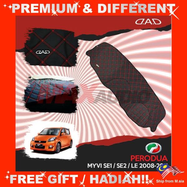 [FREE Gift] PERODUA MYVI SE1 / SE2 / LE 2008 DAD GARSON VIP Non Slip Dashboard Cover Mat