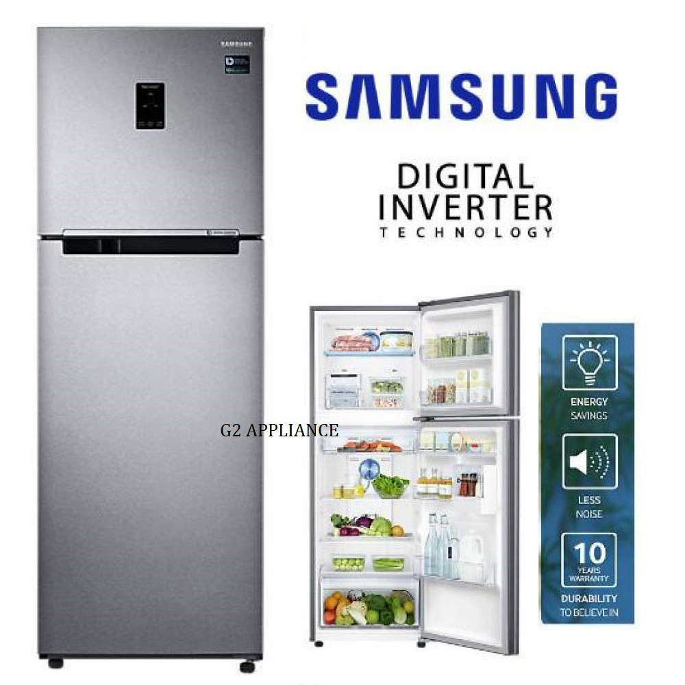 SAMSUNG 321L Top Mount Freezer with Twin Cooling Plus RT32K5552SL