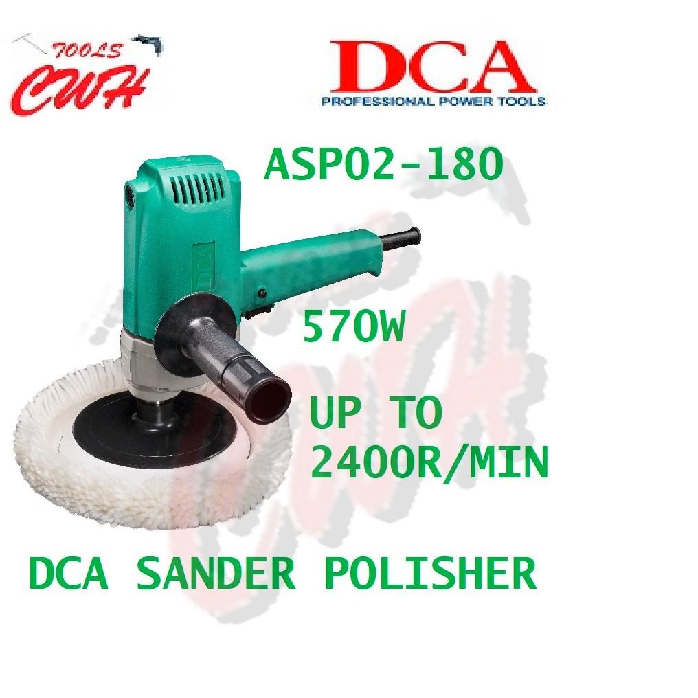 "Dongcheng DCA 570W 180MM 7"" ASP02-180 WOOD Sander Car Polisher DSP02-180 POLISHING WAXER DONG CHENG MYDIY FOX JOUSTMAX"