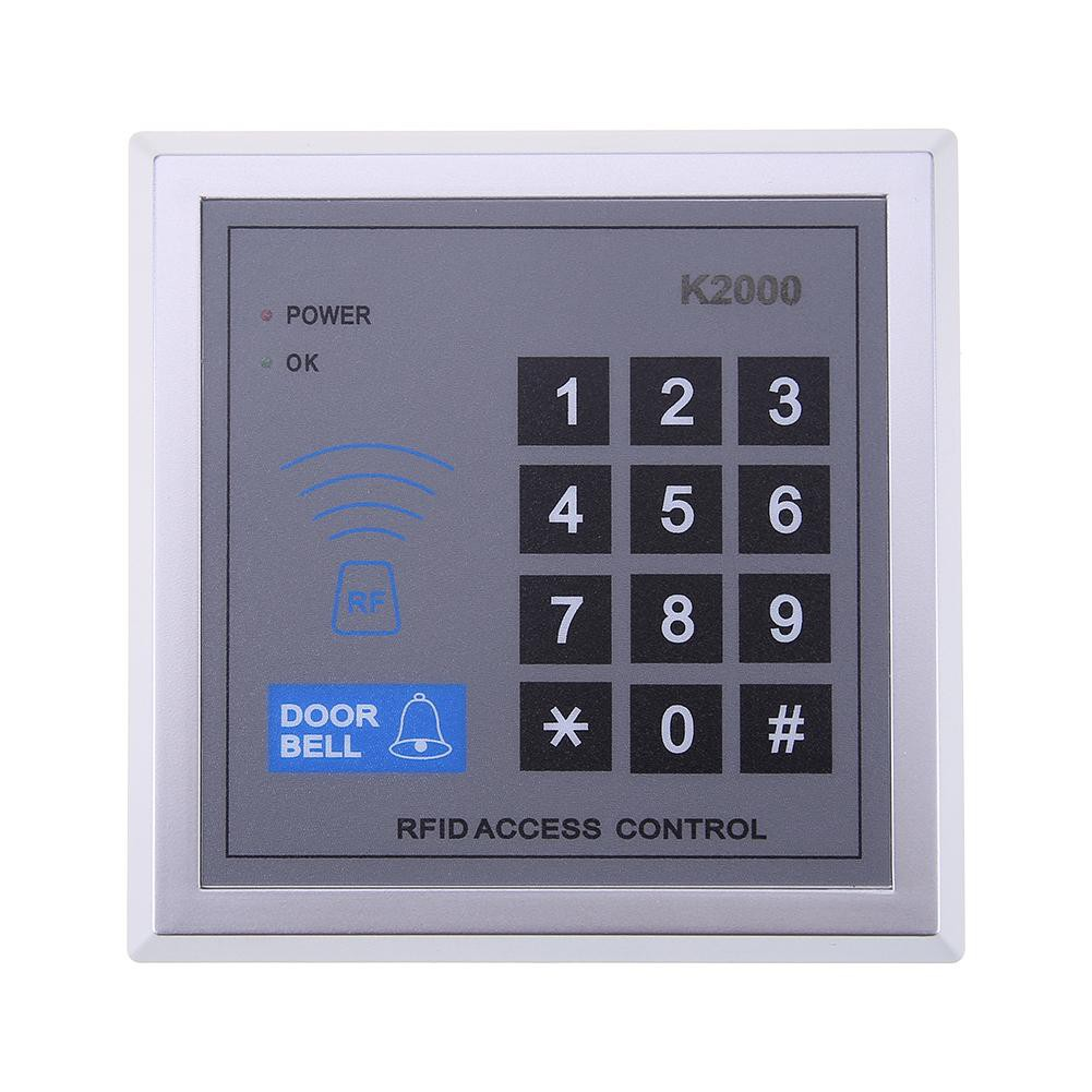 Electronic Rfid Home Security Tool Proximity Door Lock Access Keypad K2000 Wiring Diagram Control Syste Evgj Shopee Malaysia