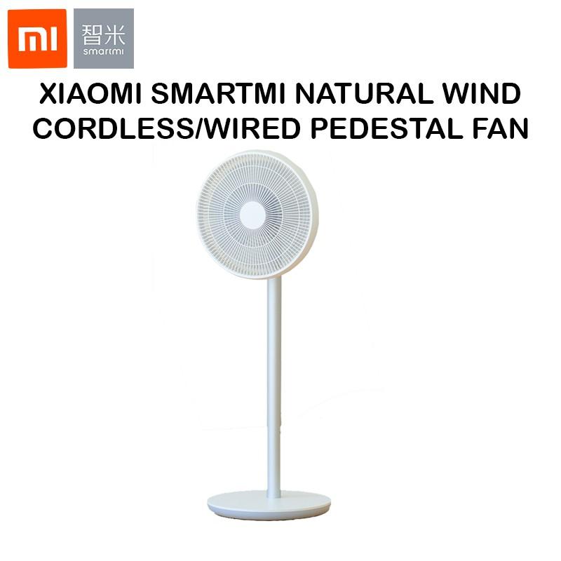 Xiaomi Mi Smartmi Natural Wind Pedestal Fan 2 2S with MIJIA APP Control DC  Frequency Fan 20W 2800mAh 100 Speed Control