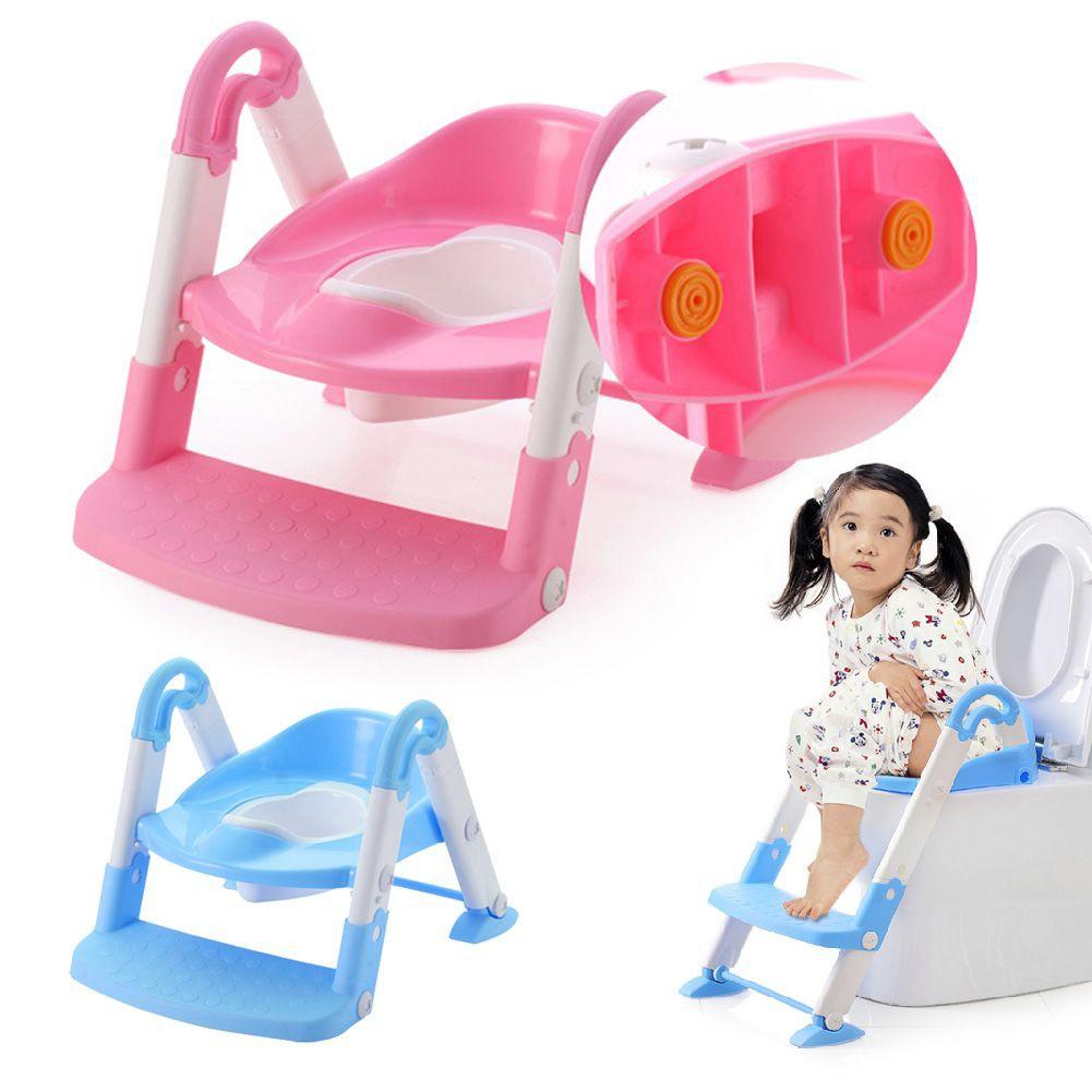 BabyYuga Pink Panda Dual Height Toddler Step Stool