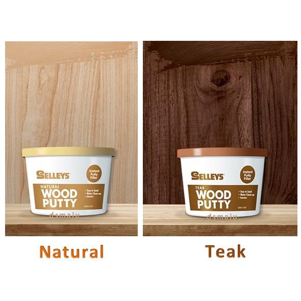 Selleys Wall Filler Wood Filler Putty Filler 500g Natural Teak Wood Putty Filler