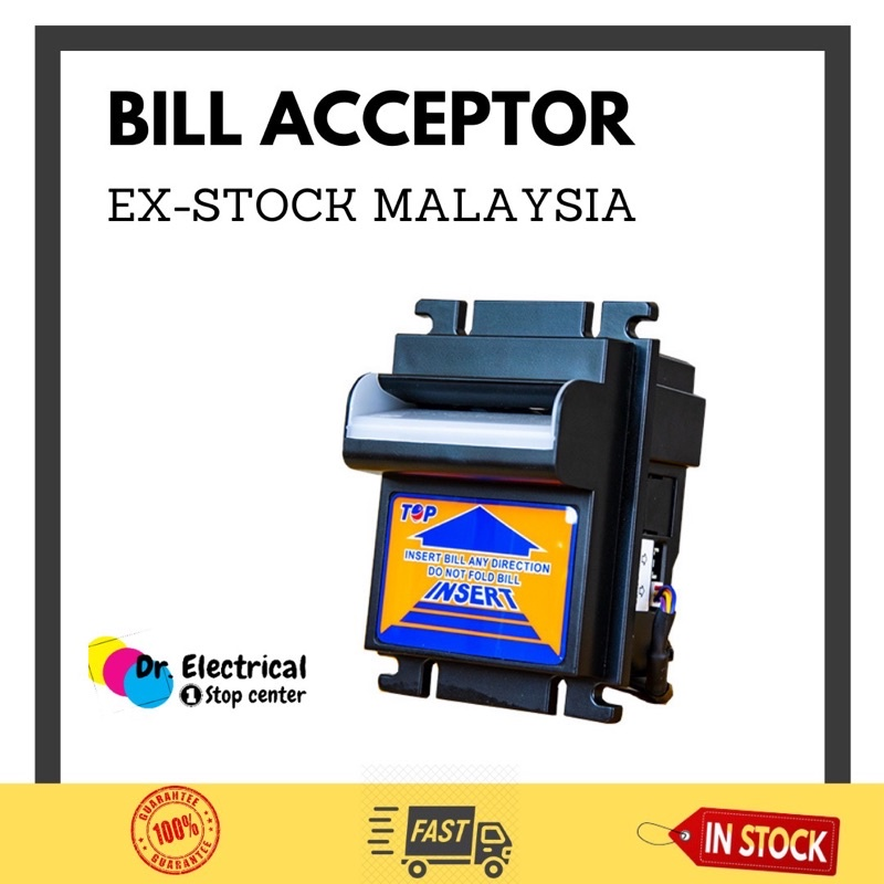 TOP Bill Acceptor Note Acceptor Malaysia Ringgit RM1 RM5 RM10 RM20 RM50 RM100 - 100% easy read the note
