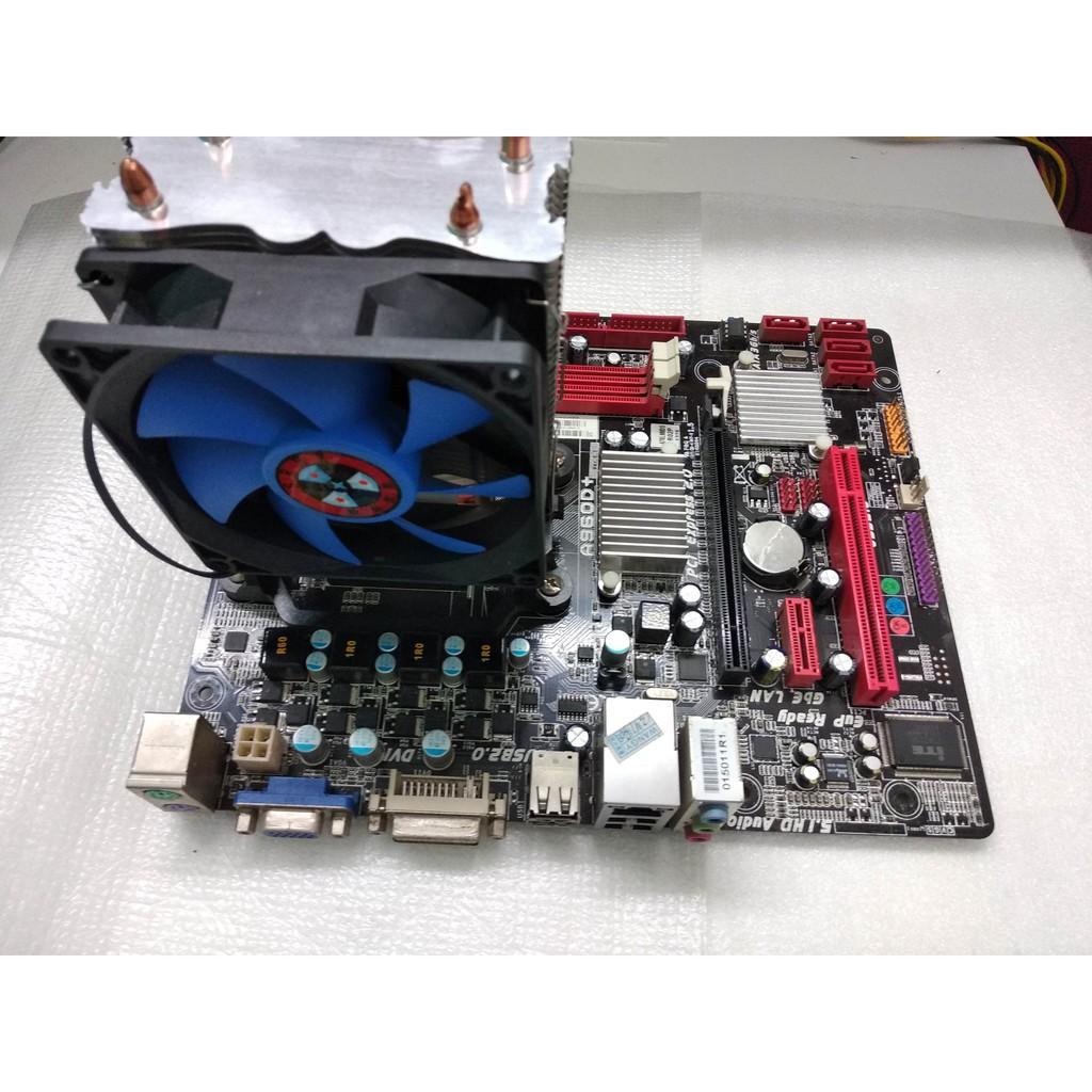 Gaming Combo AMD 4-Core FX6100 3 3Ghz CPU + Biostar 960 mATX Motherboard